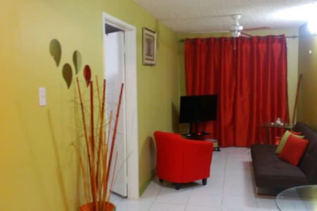 Hylton New Kingston is a modern one bedroom apartment located in the heart of New Kingston. This unit is walking distance from Kingston's business hub, fine restaurants and entertainment. 24hr security provides guests with unmatched peace of mind.