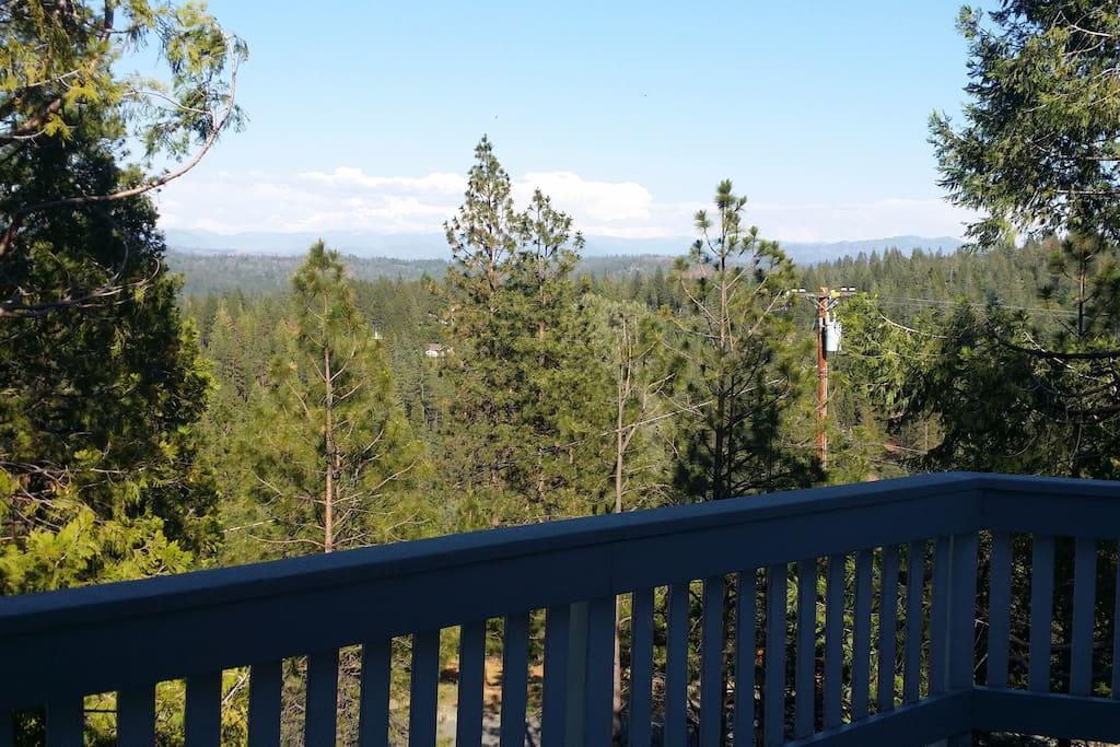 Sierra View from sun deck