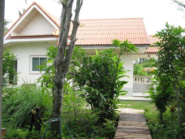 Village Life - Wat Yang Thong - San Pu Loei, Doi Saket - Huis