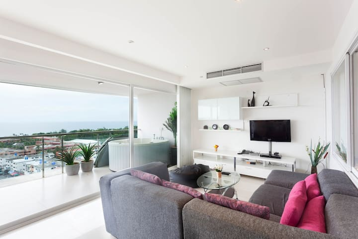 2BR Panorama seaview in Karon - Karon - Apartment