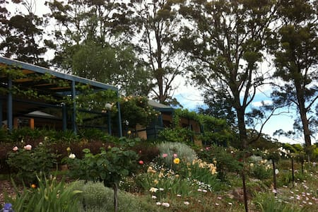 Small farm living near Berry - stunning views! - Bellawongarah - Bed & Breakfast