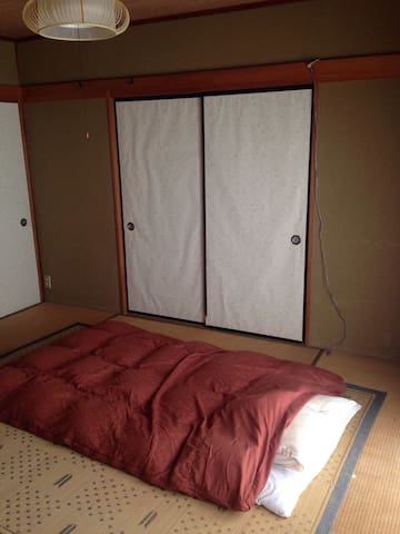 English available, Futon No breakfast - 津市 - Casa