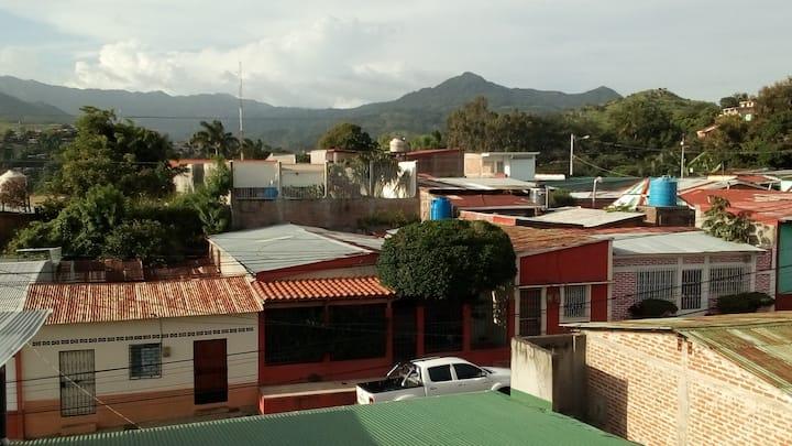 Private room with a view en Casa de Maya y Toby
