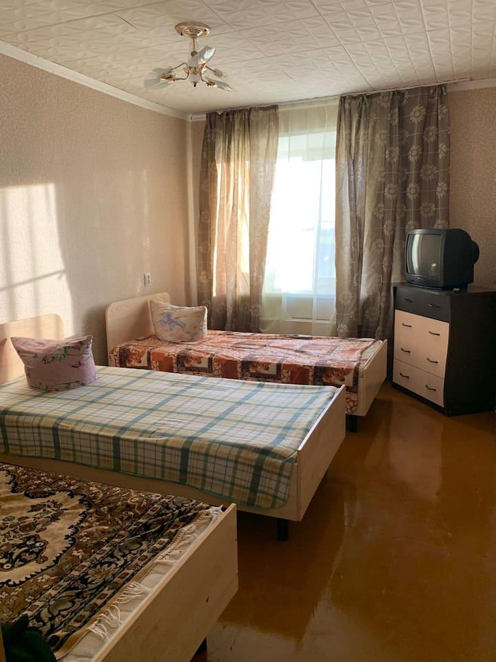 2-комнатная квартира в районе аэропорта Толмачёво
