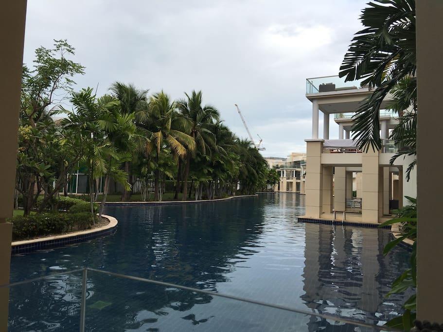 1.2 Km. swimming pool