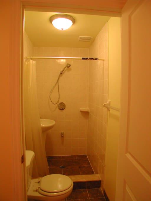 干净独用的卫生间