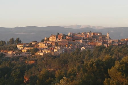 Beautiful Luberon village house with private pool. - Roussillon