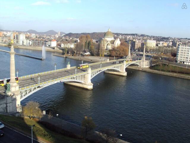 La Renommée : pont des anges. - Liège - Apartamento