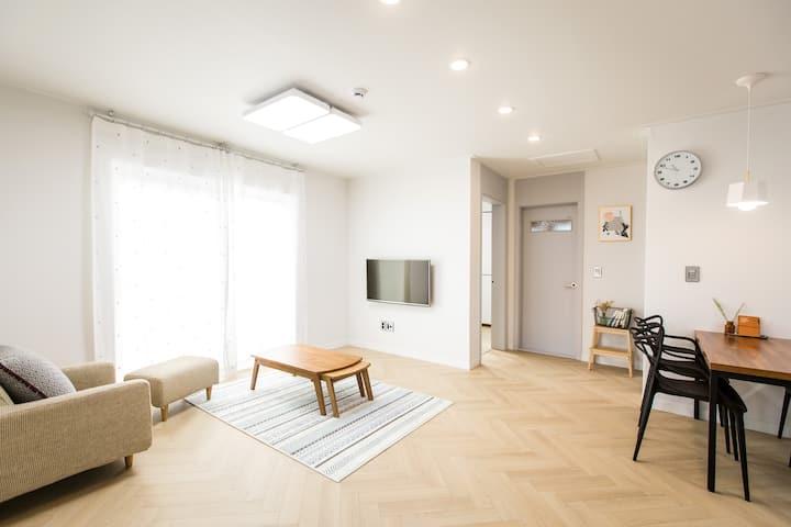 제주시내 중심 조용한 주택가 친환경 목조주택, 2층 독채전체