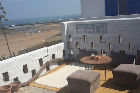 Front beach house Skhirat - Skhirat