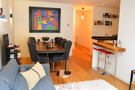Wonderful Groundfloor apt w/ garden - Amsterdam - Apartment