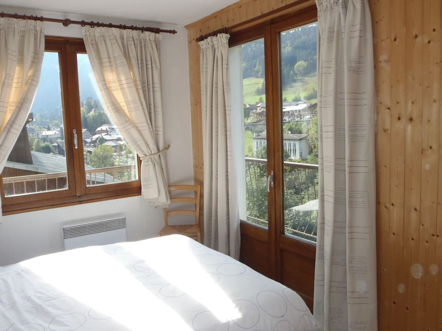 Double bedroom with beautiful views