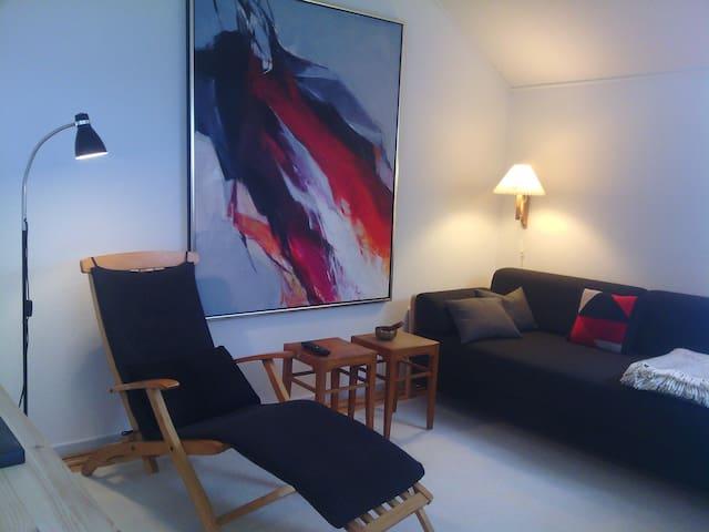 Rækkehus med lukket solrig terrasse - Svendborg - Apartament