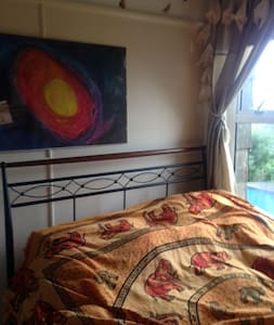 double room with stunning views - Polperro