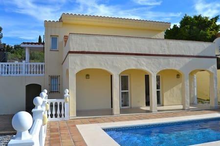 Villa with pool, sea & mountainview - Estepona - Villa