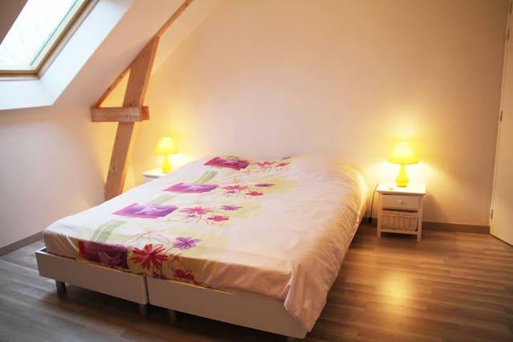 Chambre spacieuse - Le Theil-de-Bretagne