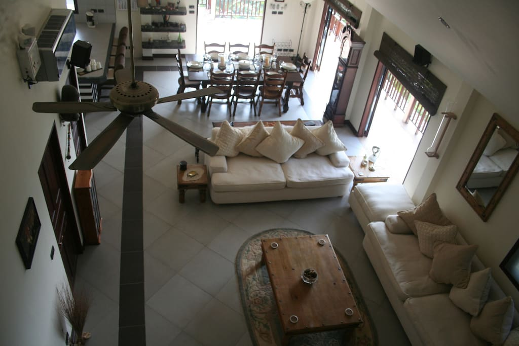 The Penthouse has ample space for up to 6 persons.