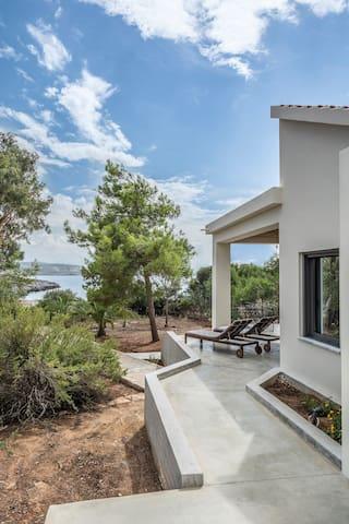 Myrtia Beach House - Χωραφάκια - Vila