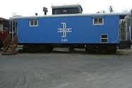 Coming soon a Caboose in the Mtn.