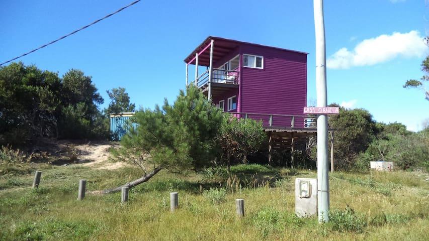 La Casa Ciruela con vista al mar - Oceania del Polonio - Casa