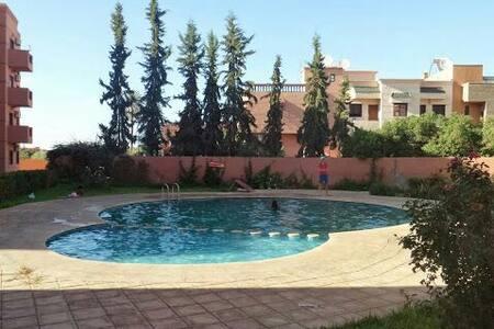 Bel appartement meublé avec piscine - Marrakech - Apartment