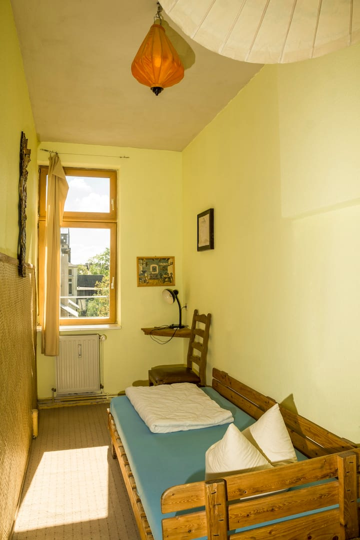 Private single room with shared facilities