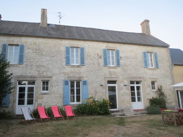 Belle longère Normande - Martragny - House