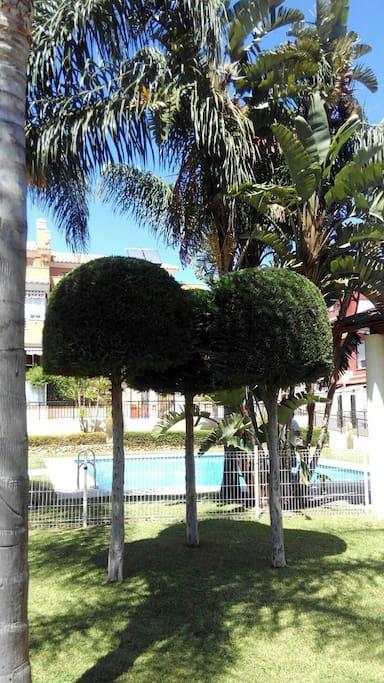 Chalet playa piscina senderismo chalets en alquiler - Espacios verdes malaga ...