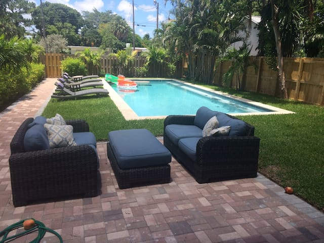 A Quiet Oasis - Private Studio/Pool - Fort Lauderdale - Apartment