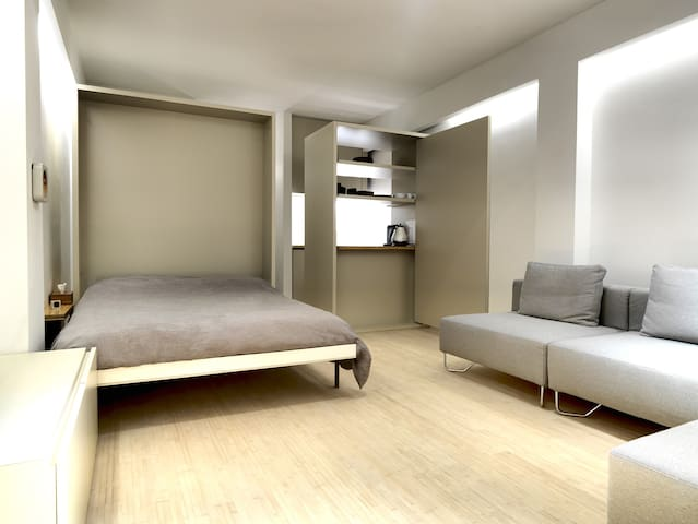 Trendy studio in shopping area - Anvers - Pis