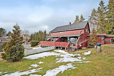 Nice Norwegian home for rent 5 min walk from ocean - Fjellstrand - Ev