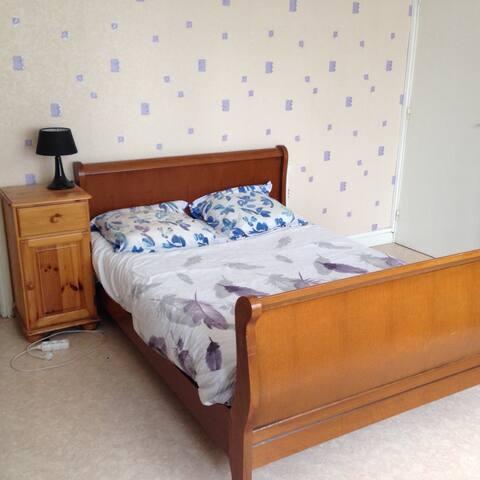 Chambre double dans grande maison - Lille - Bed & Breakfast