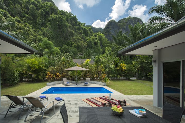 Eden Villas-Krabi-Pool Villa-FreeCar-Mountain View