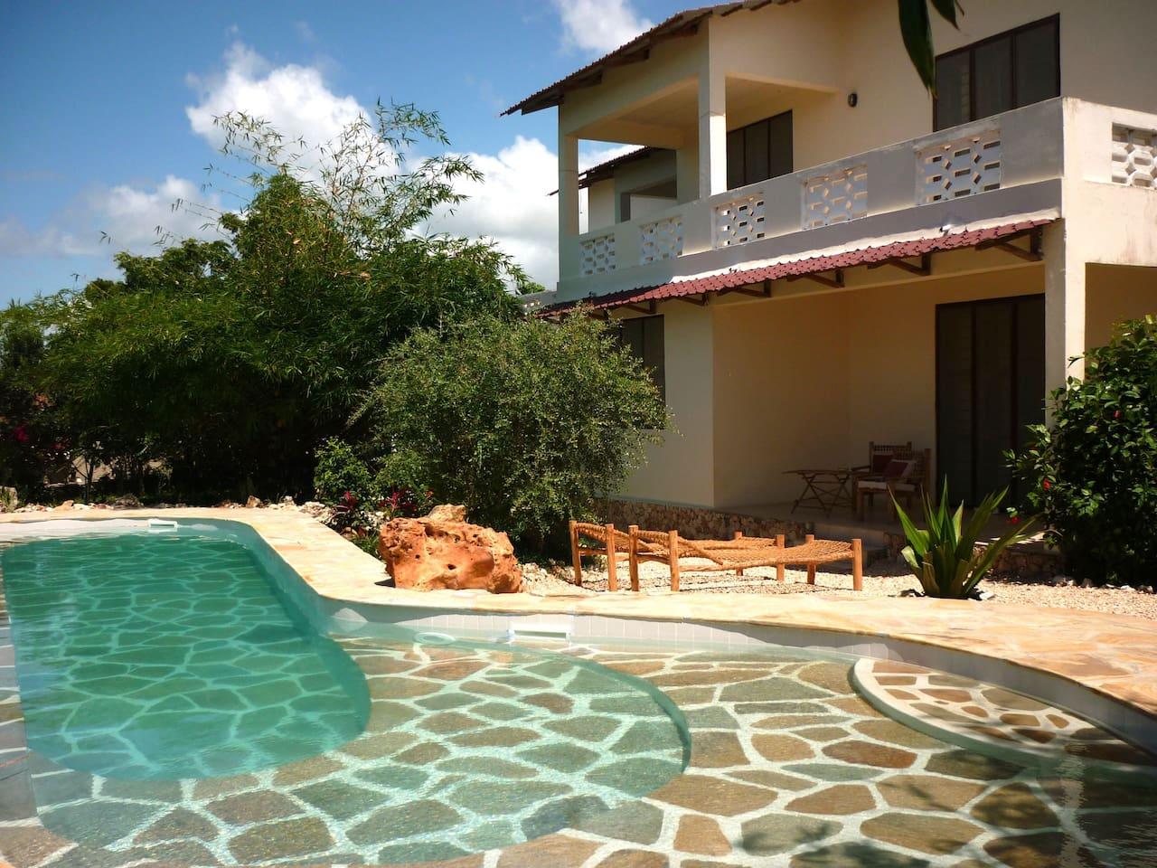 Lagoon Style Swimmin Pool
