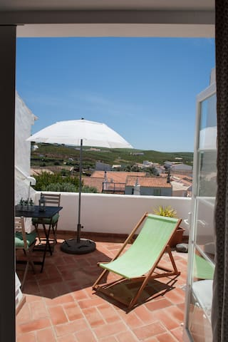 Cosy house with fantastic view(licence 137/AL) - Raposeira - Huis