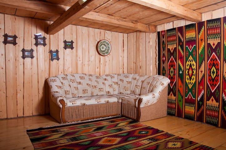 Деревяний котедж в горах - Verkhovyna - Hus