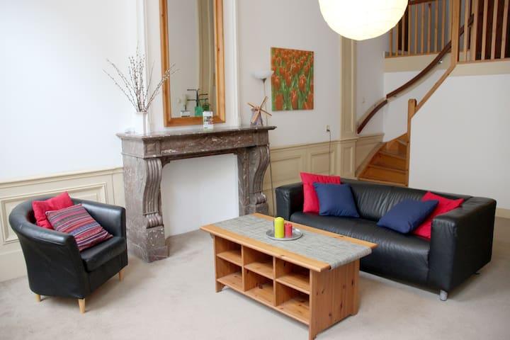 Charming Apartment in Center R - Leiden - Huoneisto