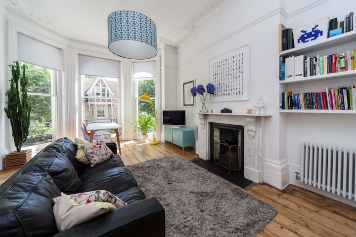 Historic townhouse 5 min from sea - Brighton and Hove - Apartment