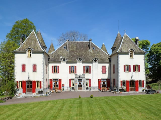 """Château de Chazelles """"chambre 2 pers."""""""