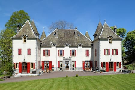 Château de Chazelles chambre 2 pers - Avèze - Bed & Breakfast