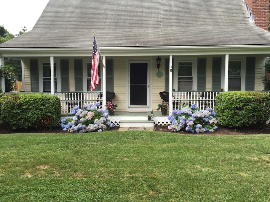 Front Yard and Farmers Porch