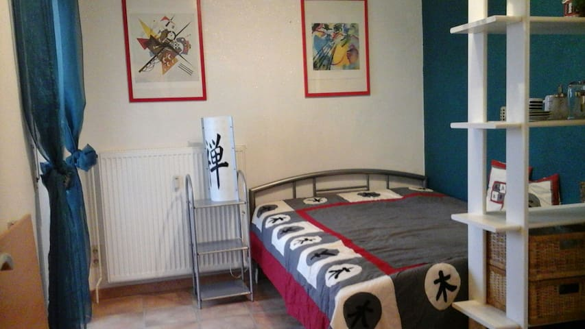 Nice room w. balcony in Bad Camberg