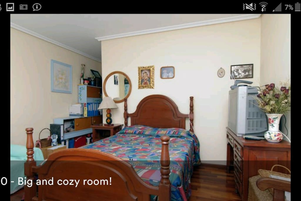 1 room double bed