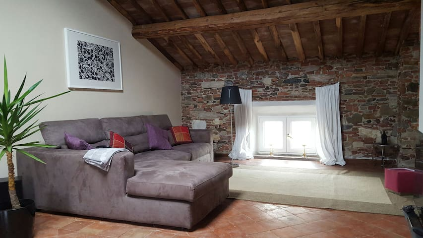 Charming loft with large garden - Lucca - Loft