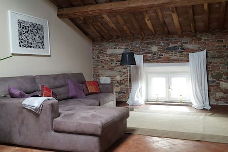Charming loft with large garden - Lucca