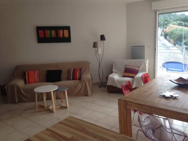 grand appart lumineux et calme - Banyuls-sur-Mer - Apartmen