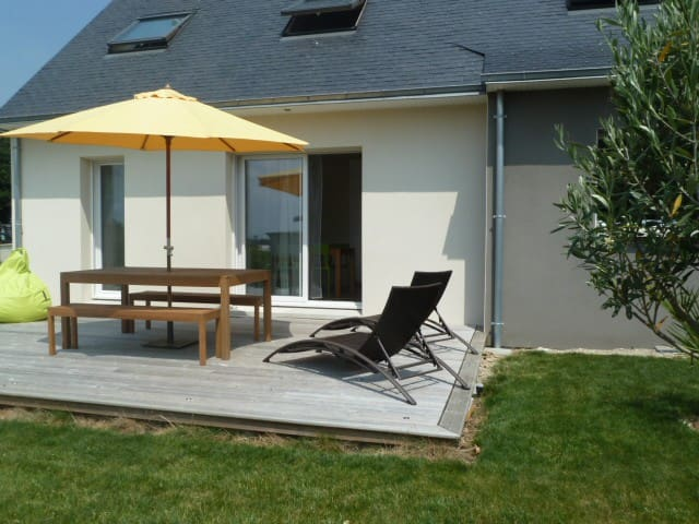 Maison de bord de mer Finistère sud - Plonévez-Porzay - House