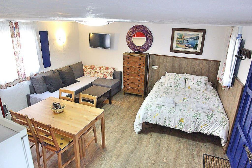 Apartamento totalmente equipado