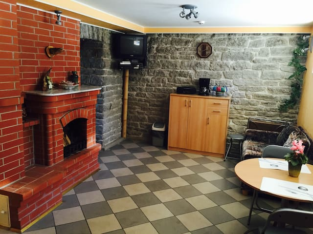 Apartment with fireplace and sauna - Tallinn - Appartement