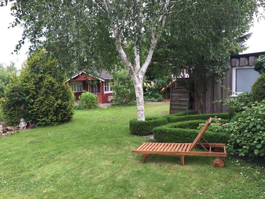 Garten zum Verwilen und Relaxen